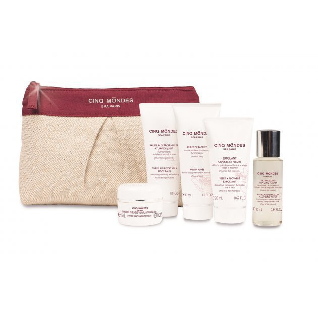 Beauty rituals of the world collection pouch