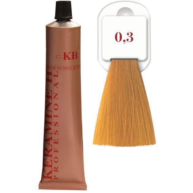Salon Haircolor Cream тон 0.3 золотистый