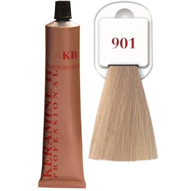 Salon Haircolor Cream тон 901 пепельный
