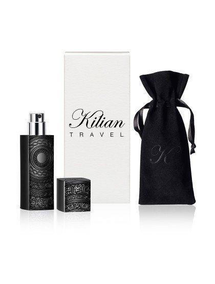 Black travel spray