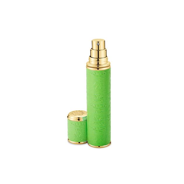 Neon Green with Gold Trim Pocket Atomizer