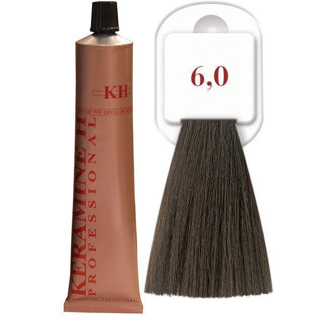 Salon Haircolor Cream тон 6.0 темный блонд