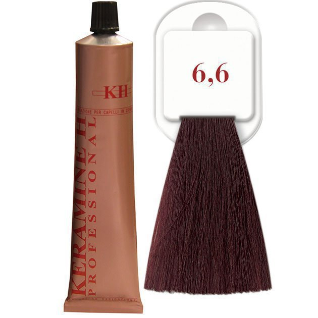 Salon Haircolor Cream тон 6.6 темно-бронзовый блонд
