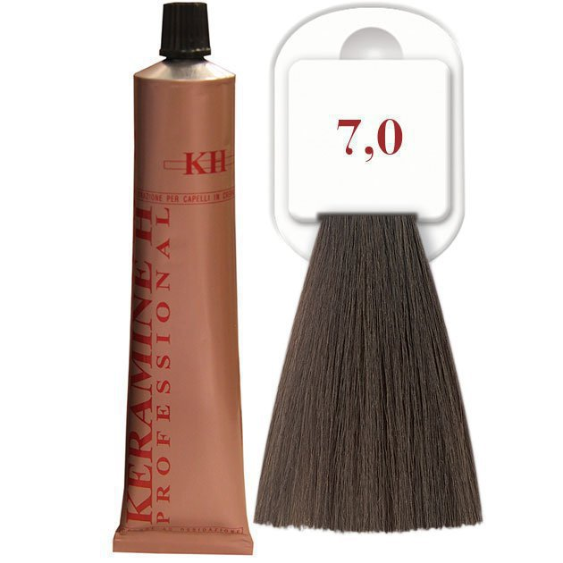 Salon Haircolor Cream тон 7.0 блонд