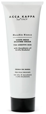 White Moss Shaving Cream