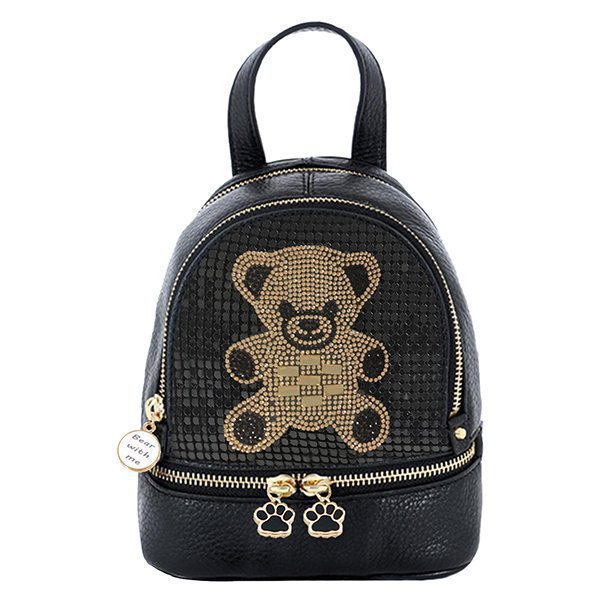 Backpack With T Bear