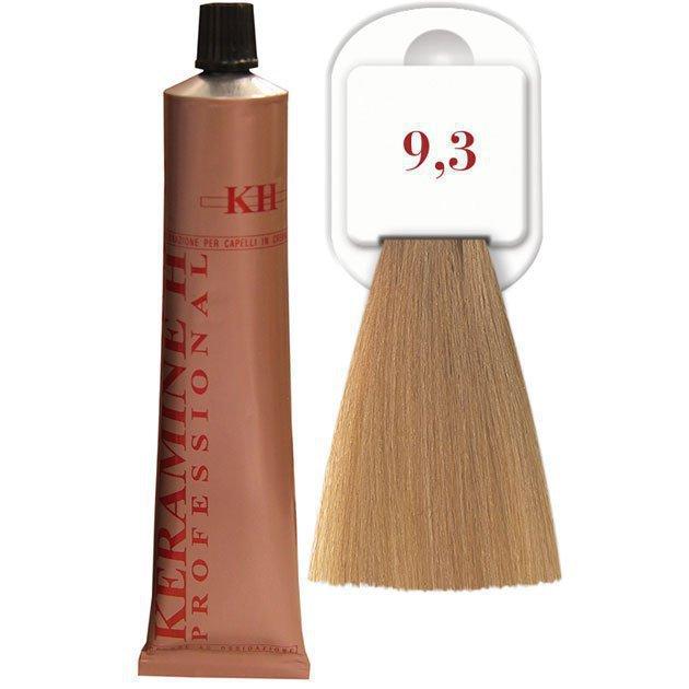Salon Haircolor Cream тон 9.3 глубокий золотистый блонд