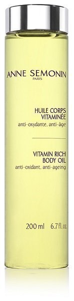 Vitamin Rich Body Oil