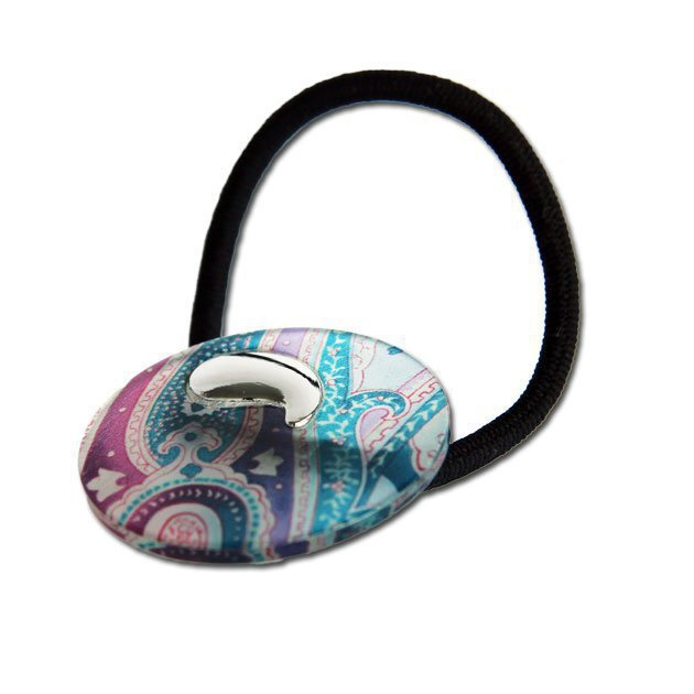 Elastic Band With Paisley