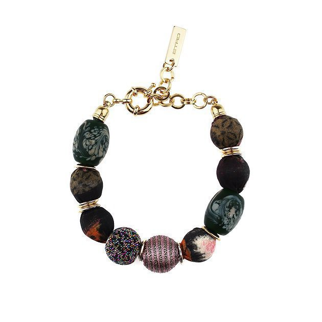 Boules Bracelet With Luminous Threads