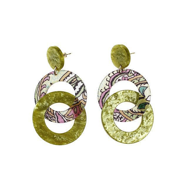Intertwined Circles Earrings