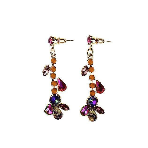 Beads-Strass Earring