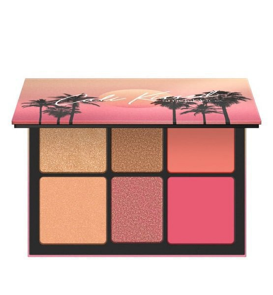 Cali Kissed Hilight & Blush Palette