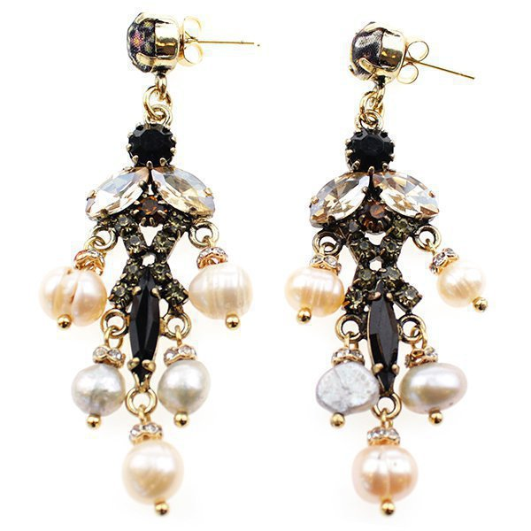 Earring Little Pearls