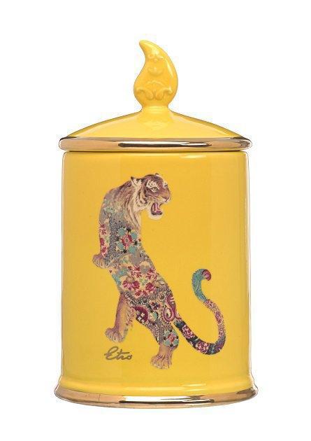 Ceramic Candle - TIGER