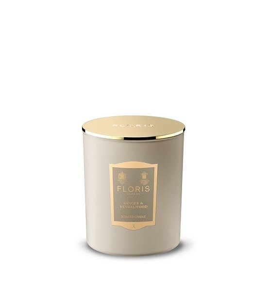 Ginger and Sandalwood Candle