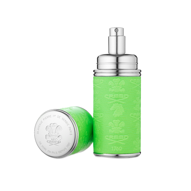 Neon Green with Silver Trim Deluxe Atomizer
