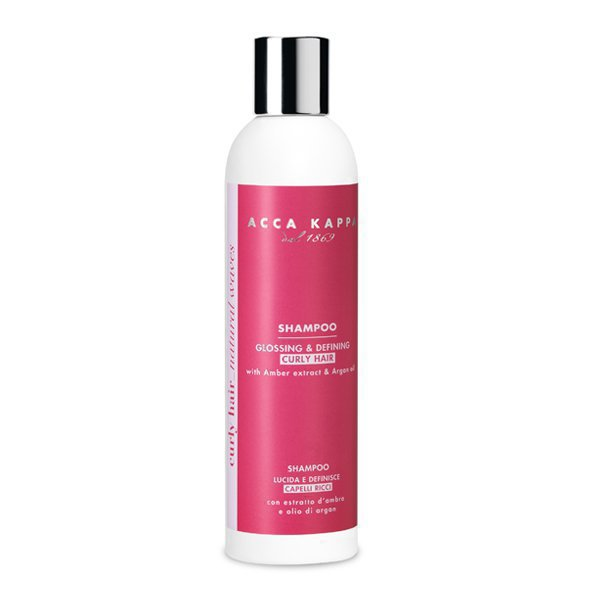 Glossing & defining shampoo for curly hair