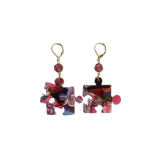 Puzzle Earring