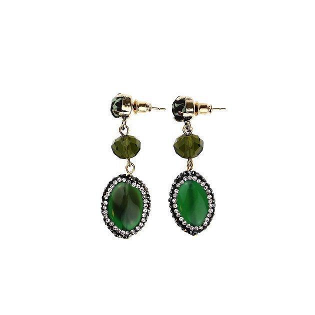 Earring Jewel Button