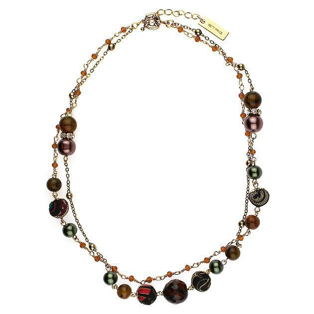 Multilines Choker With Small Boules