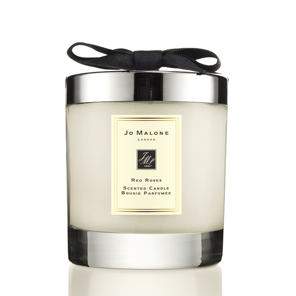 Home candle Red Roses