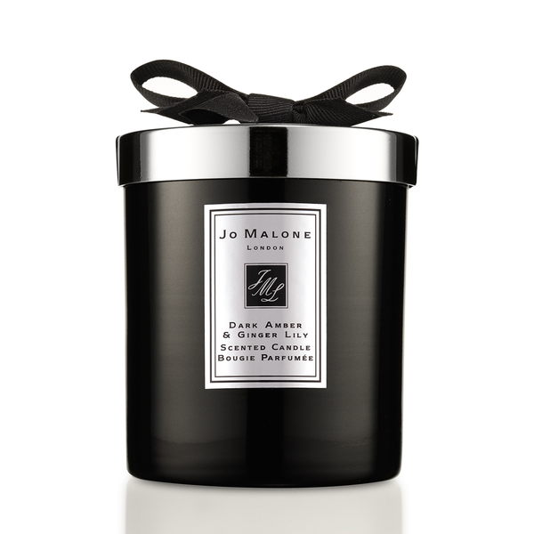 Home candle Dark Amber & Ginger Lily
