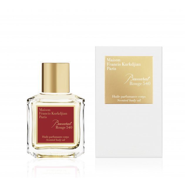 Baccarat Rouge 540 Body Oil