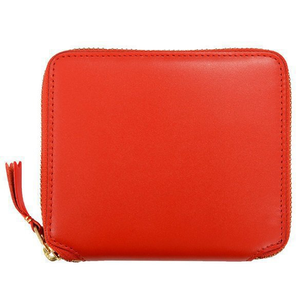Classic leather line Wallet red