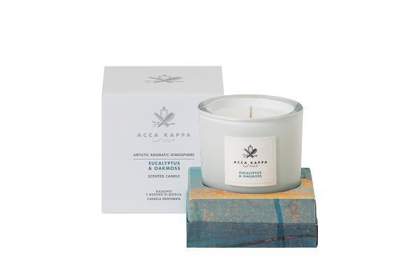 Eucalypthus & Oakmoss-Scented Candle