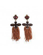 BEADS TASSEL EARRING
