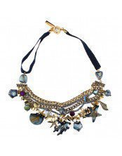 Choker Multi-Stand Chains With Sea Elements