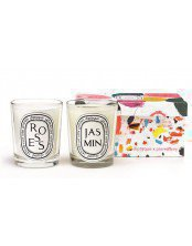 Roses & Jasmin duo candle set