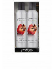 Greenland gift pack: shower & body mousse sensation