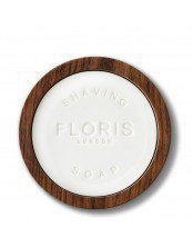 The Gentleman Floris Elite Shaving Soap in a Wooden Bowl