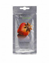 Face mask strawberry-anise