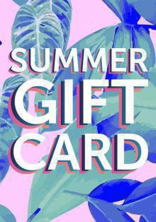Summer Gift Card от Aromateque