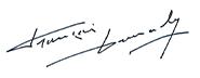Picture of signature